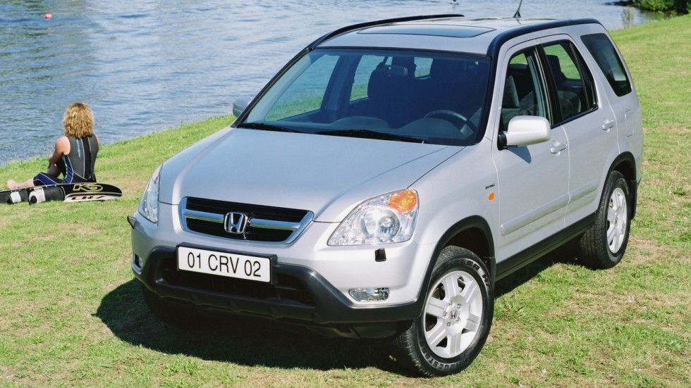 Honda CR-V (RD5) '2001–05яяяяяяяяя