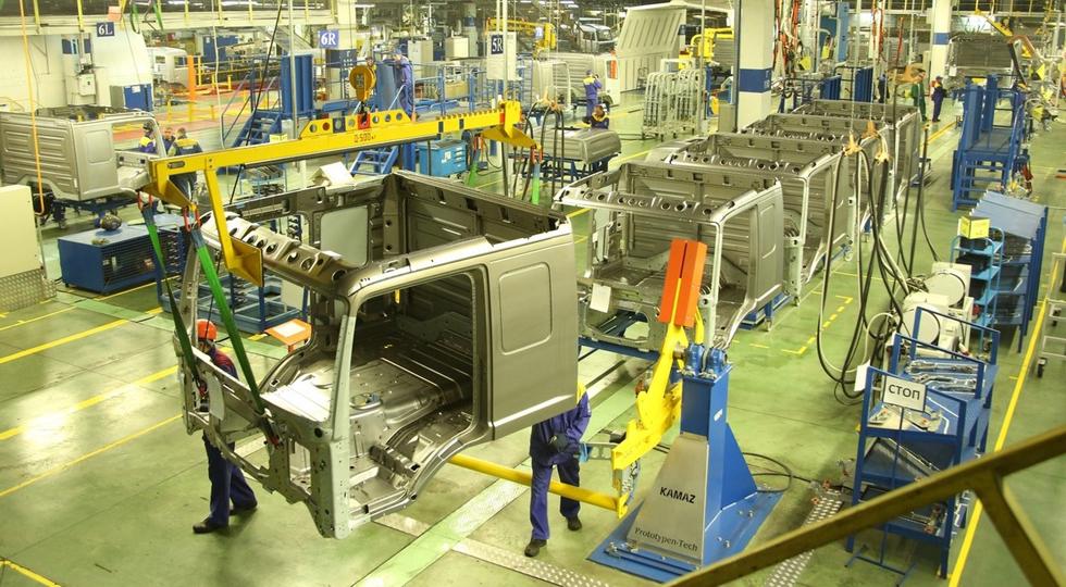 На прессово-рамном заводе КАМАЗа появились новые роботы