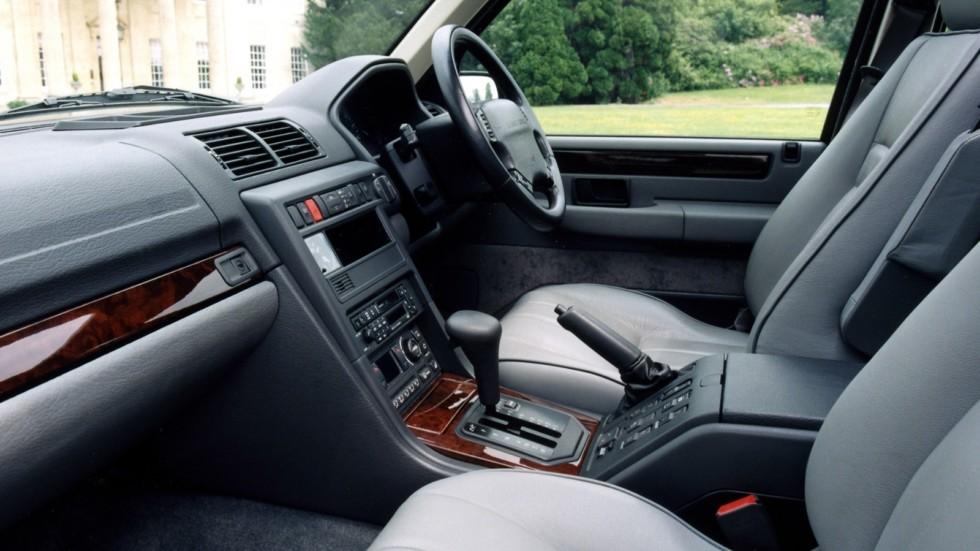 На фото: Интерьер Range Rover '1994–2002