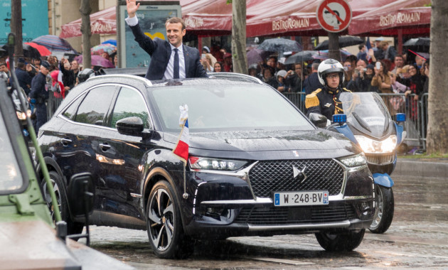 Кроссовер Citroen DS7 Crossback сделали официальным автомобилем президента Франции class=