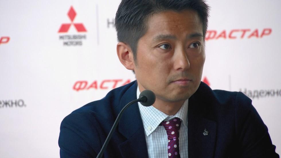 Наоя Накамура, Mitsubishi Motors Rus: до конца года мы преподнесем большой сюрприз