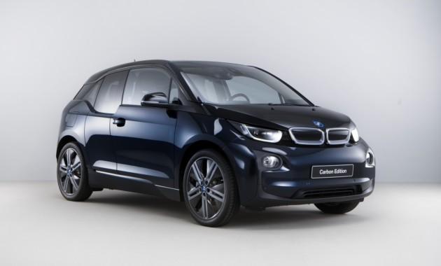 Автомобильный концерн БМВ представил лимитированную серию i3 Carbon Edition