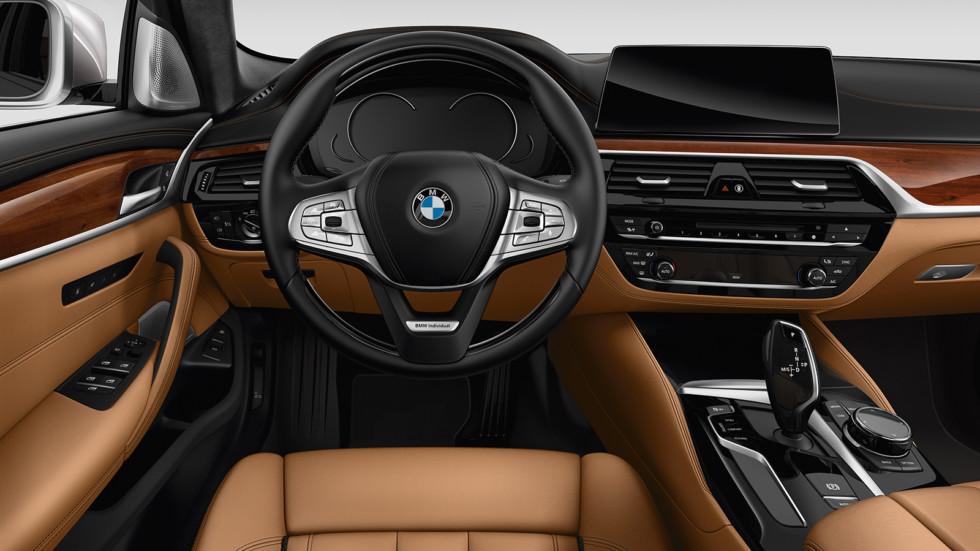 Также BMW 5 Series с лета этого года получит новые варианты и цвета отделки салона