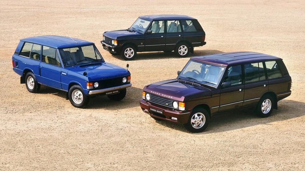 На фото: Range Rover '1970–96