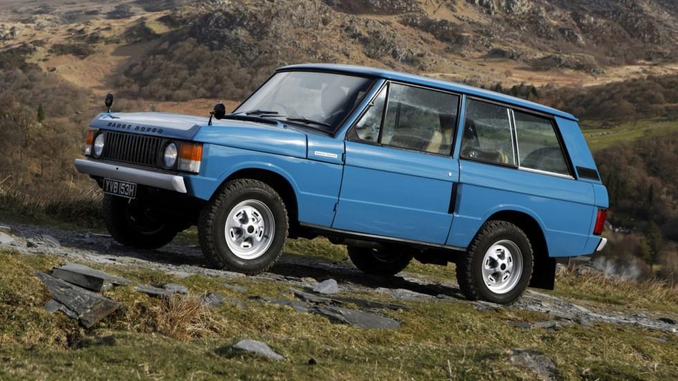 На фото: Range Rover '1970–86