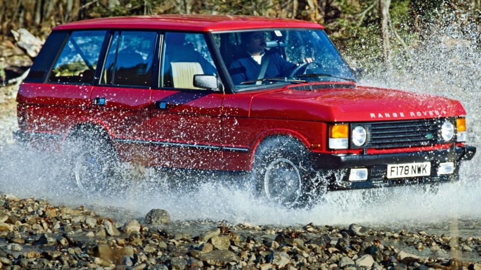 На фото: Range Rover '1986–96