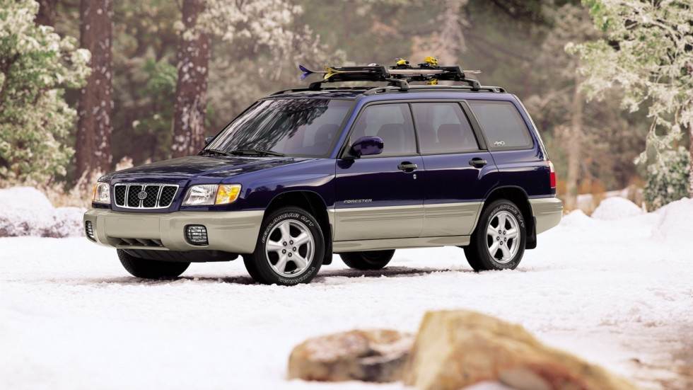 На фото: Subaru Forester North America (SF) '2000–02