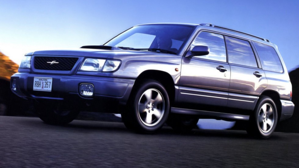 На фото: Subaru Forester Turbo '1997–2000