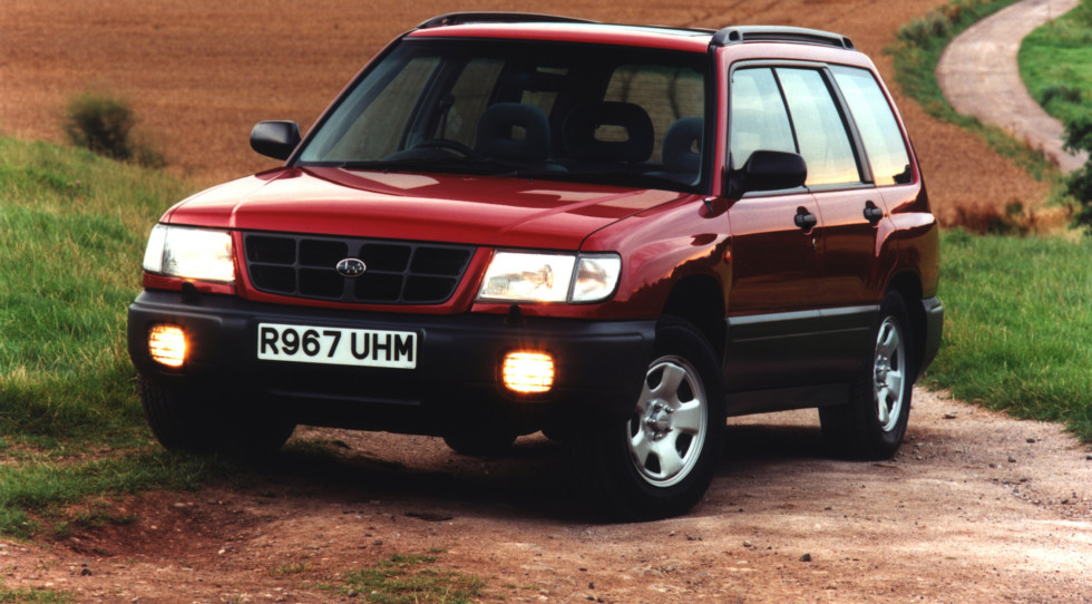 На фото: Subaru Forester '1997–2000