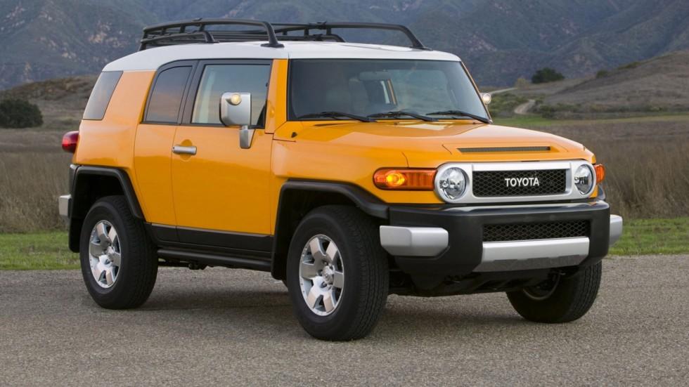На фото: Toyota FJ Cruiser '2006–2010