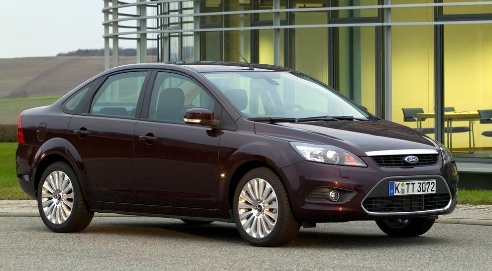 На фото: Ford Focus, 2008-2011 гг.