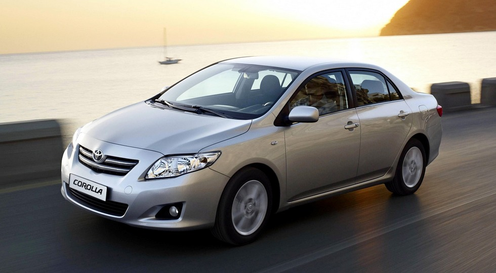 На фото: Toyota Corolla, 2007-2010 гг.