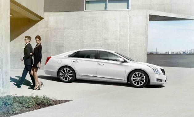 12МайСедан Cadillac XTS обновили в стиле флагмана CT6
