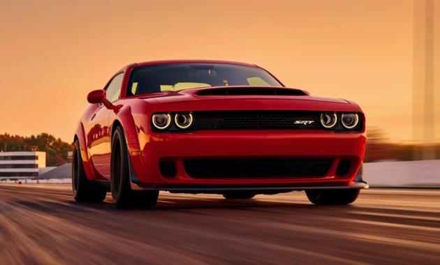 Озвучена стоимость нового маслкара Dodge Challenger SRT Demon