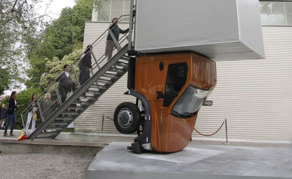 Арт-объект «ГАЗон NEXT» представят наВенецианской биеннале