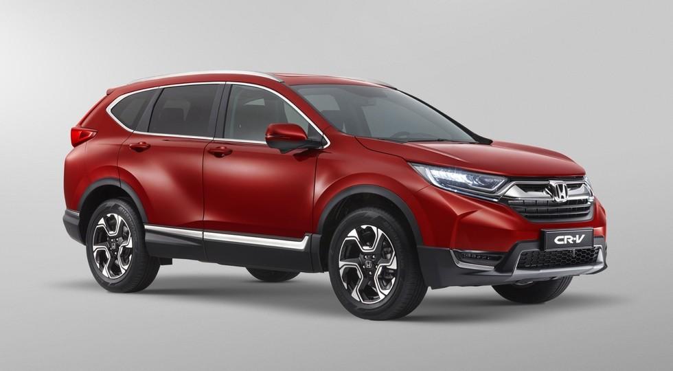 Хонда поведала оценах нановый кроссовер CR-V