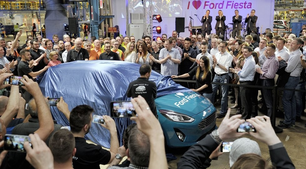 Форд начал серийное производство новейшей Fiesta для Европы