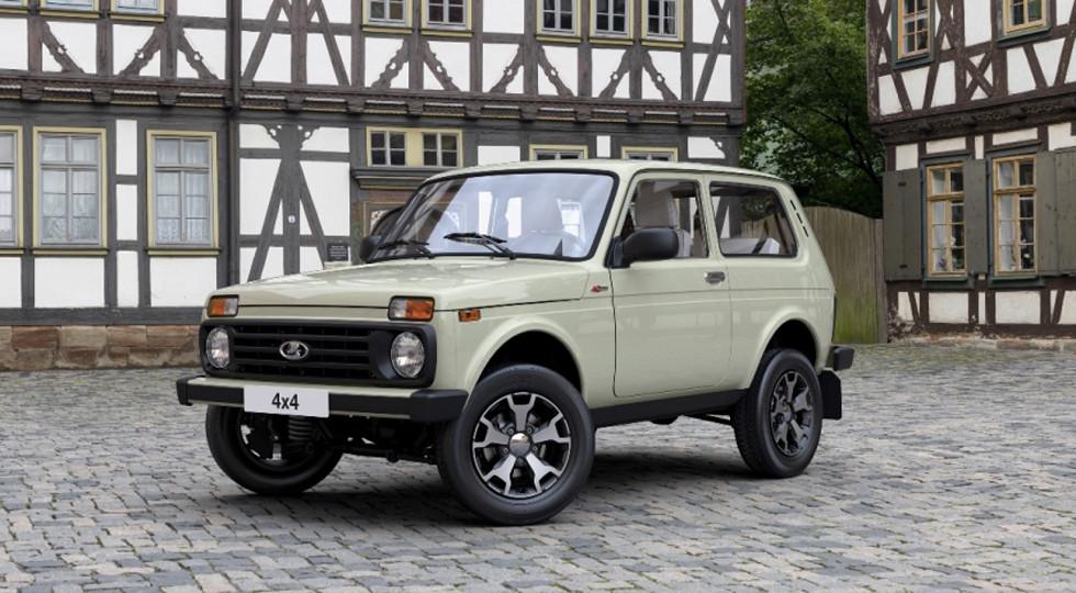АвтоВАЗ начал продавать «юбилейную» lada 4x4 class=