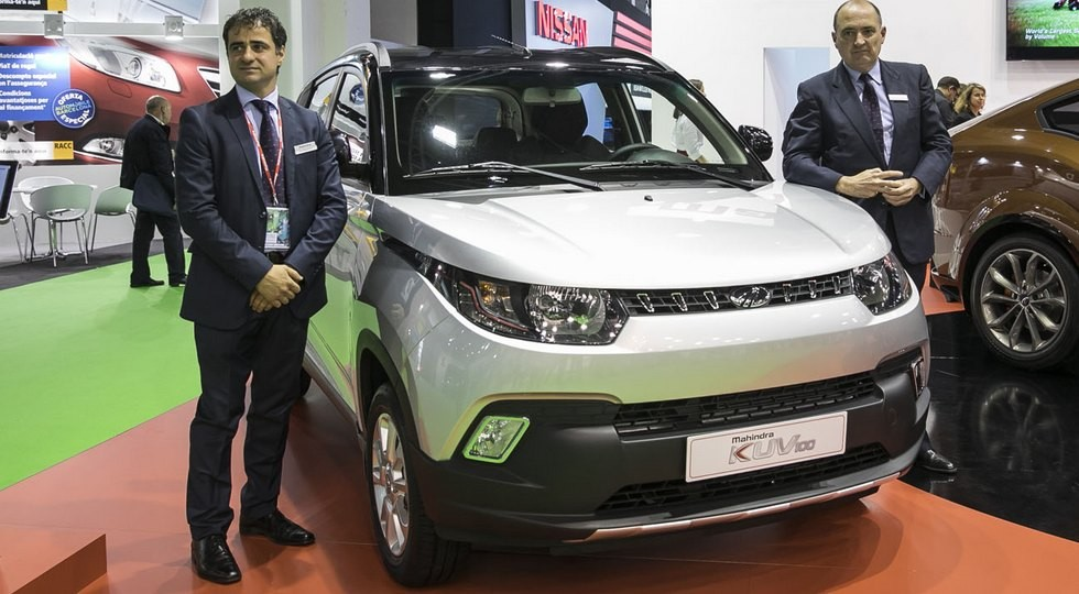 Мини-кроссовер Mahindra KUV100 выйдет на рынок Европы