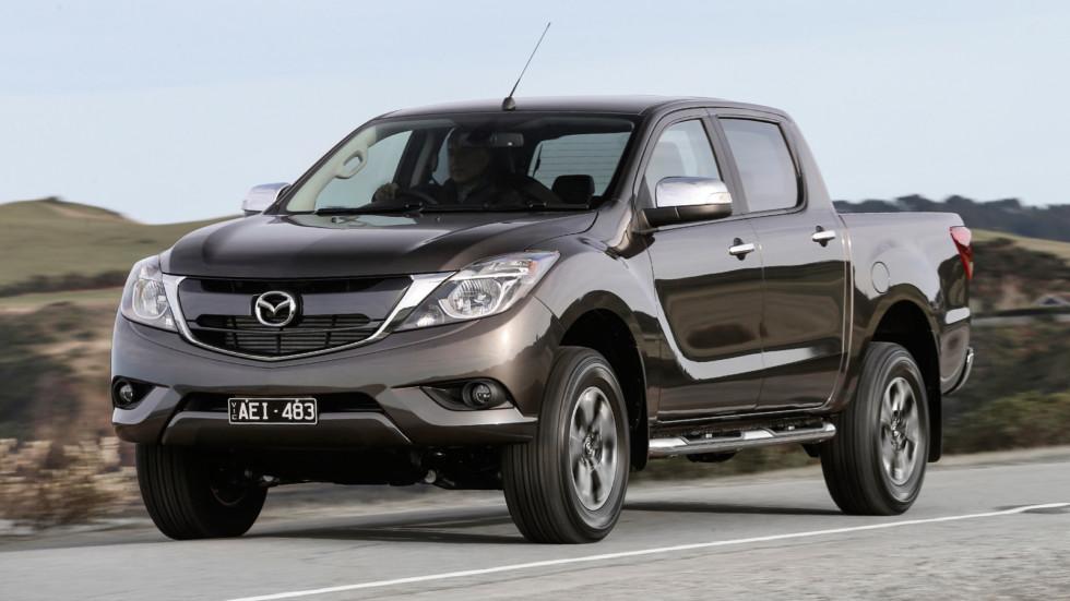 На фото: актуальная версия Mazda BT-50
