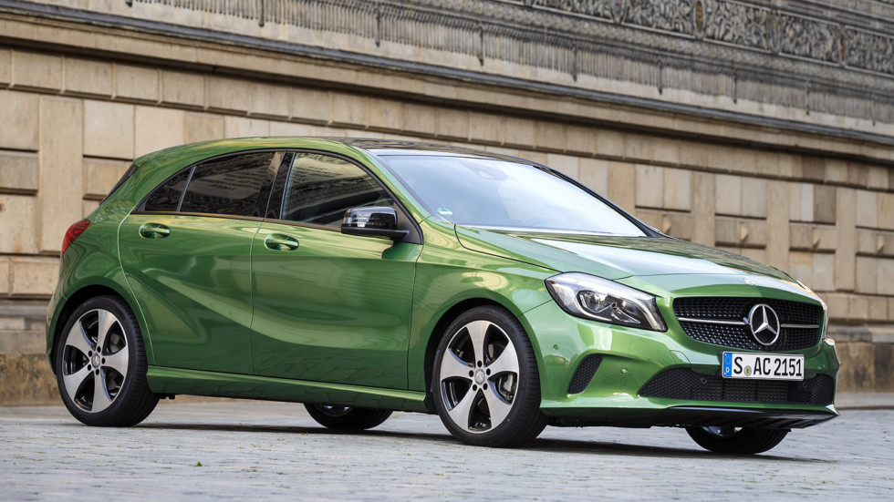 На фото: актуальная версия Mercedes-Benz A-Class