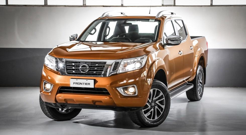 На фото: Nissan Frontier для южноамериканского рынка. В некоторых странах модель известна как Navara