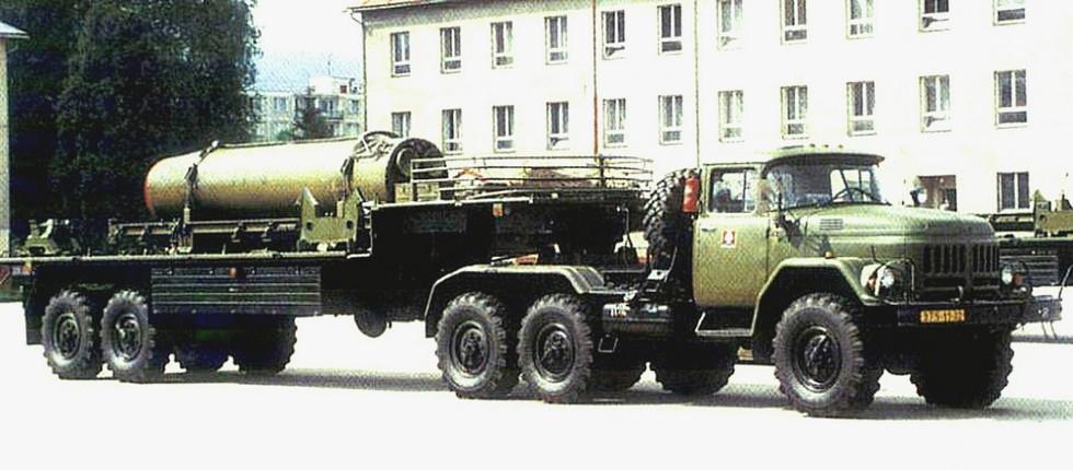 Транспортная машина 9Т240 ракетного комплекса «Ока» (фото M. Gyurosi)