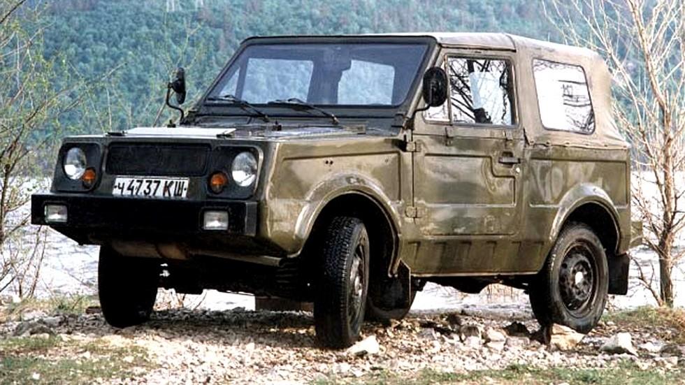 Последний шестой вариант плавающей машины ВАЗ-2122.600 «Река» (из архива ВАЗ)