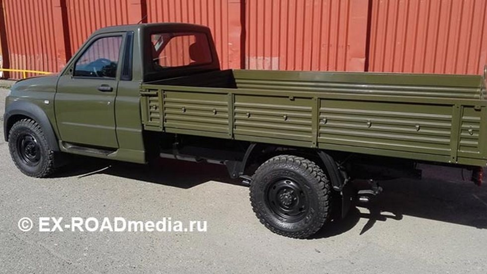 Появились первые «шпионские» фотографии  нового автомобиля УАЗ Profi