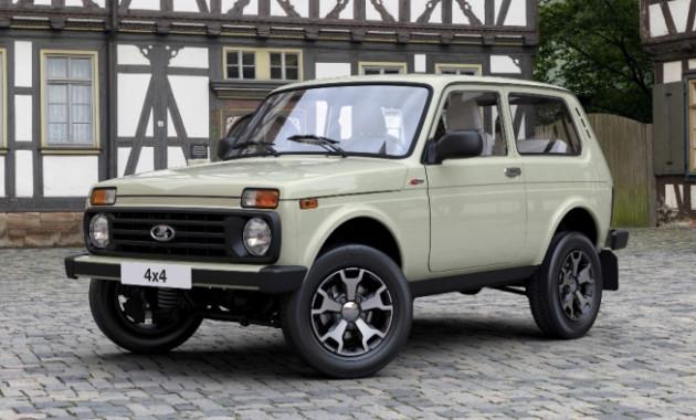 Начались продажи юбилейной версии джипа Лада 4x4
