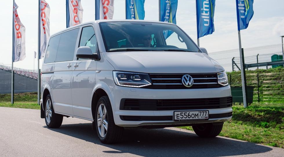 На фото: Volkswagen Caravelle