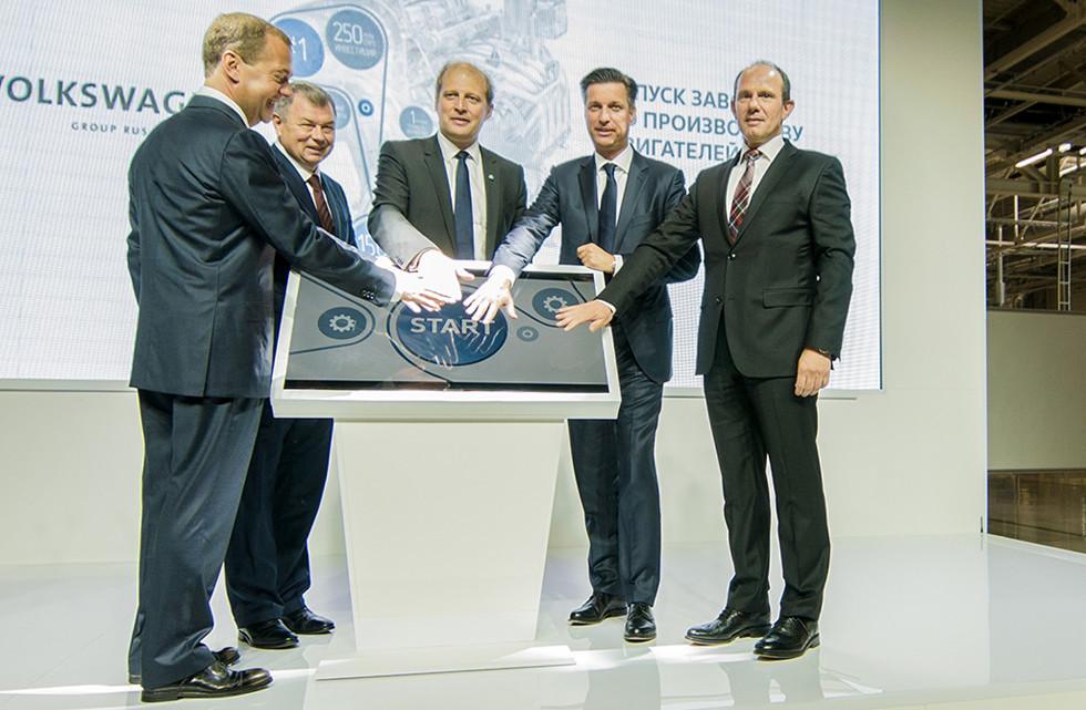 VW отправит наэкспорт двигатели русского производства