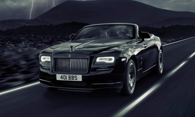 В Rolls-Royce представили кабриолет Dawn спецсерии Black Badge