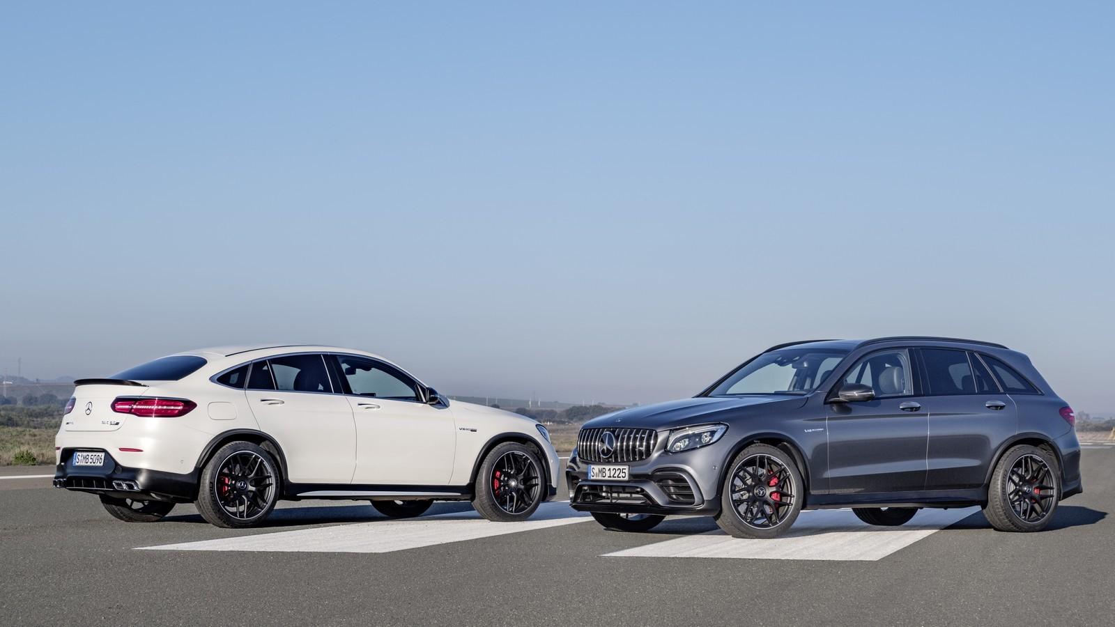 ВГермании были названы цены накроссоверы Mercedes-AMG GLC