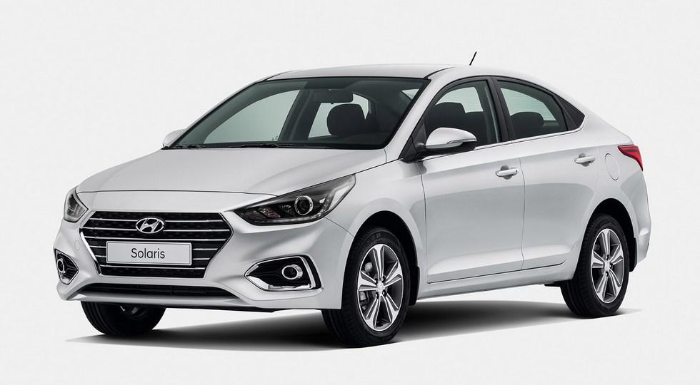 На фото: новый Hyundai Solaris