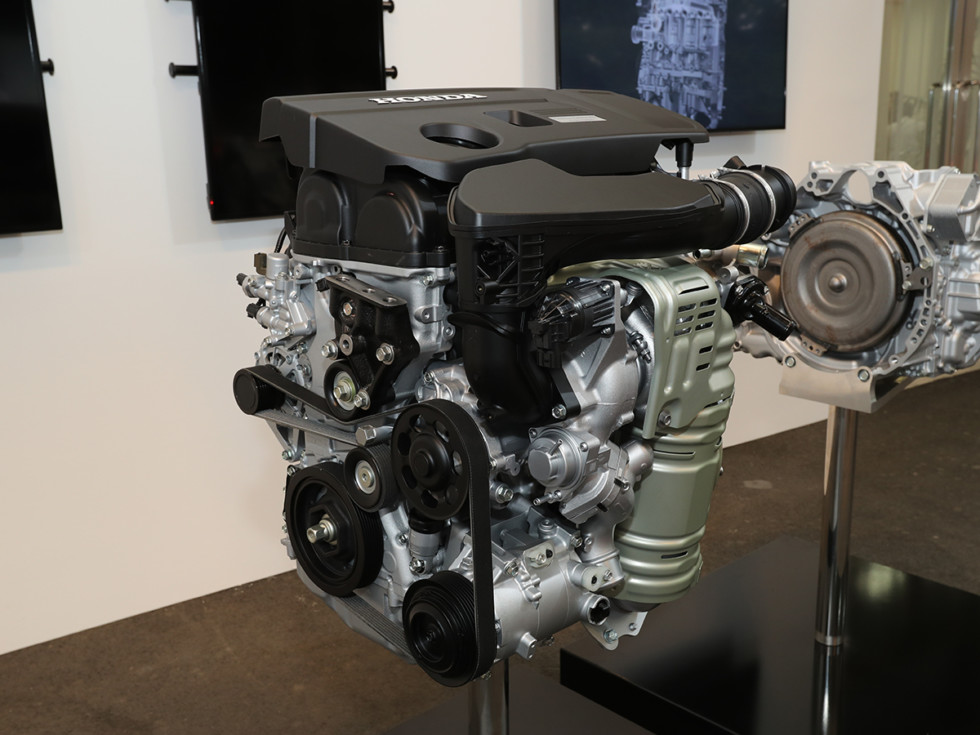 Двухлитровый двигатель для нового Аккорда