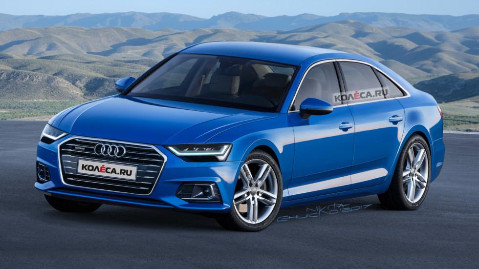 Новая Audi A6 C8 Колеса ру
