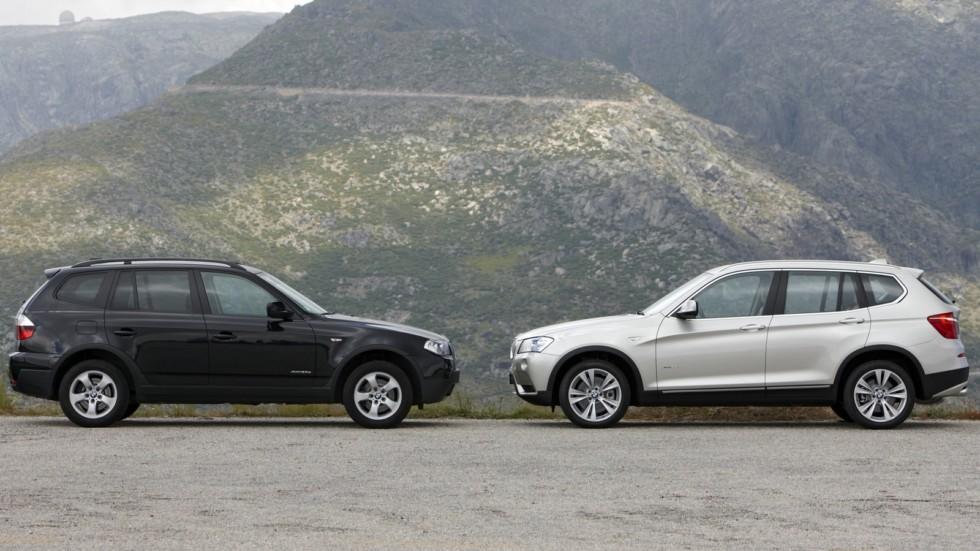 На фото: BMW X3