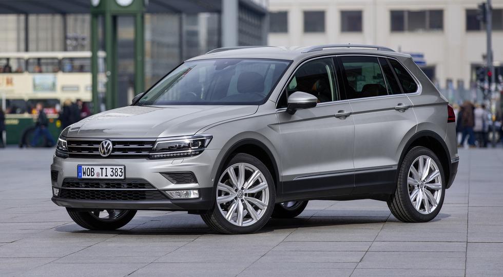 На фото: Volkswagen Tiguan нового поколения