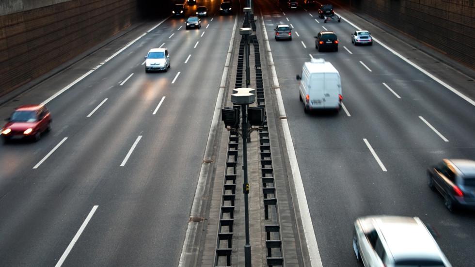 cars motorway