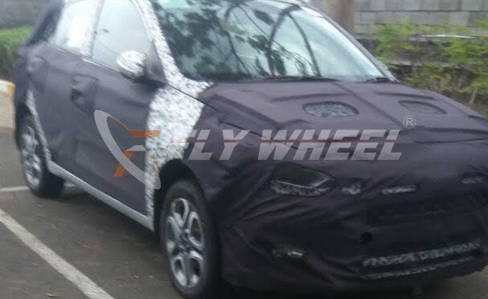 Hyundai тестирует рестайлинговый i20