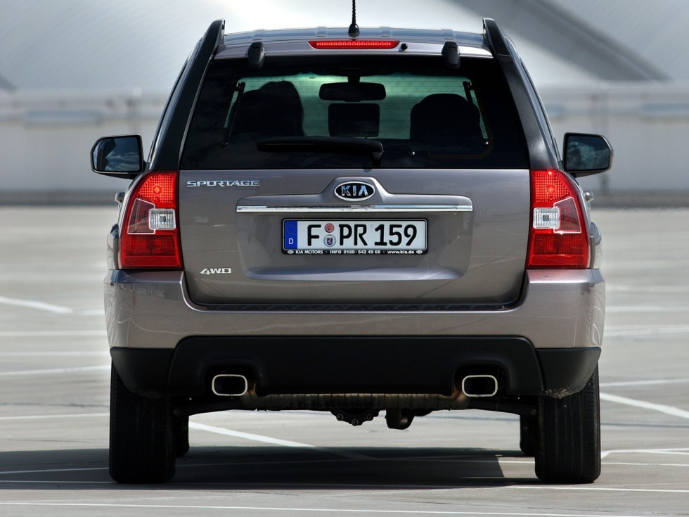 Kia Sportage (KM) '2008–10эээ