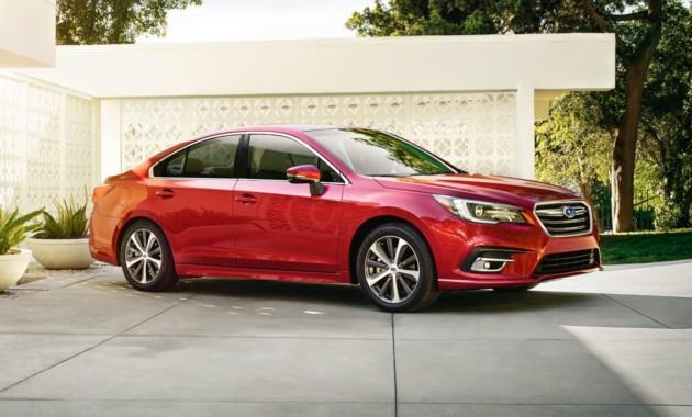 Subaru объявила цены на обновленный седан Legacy