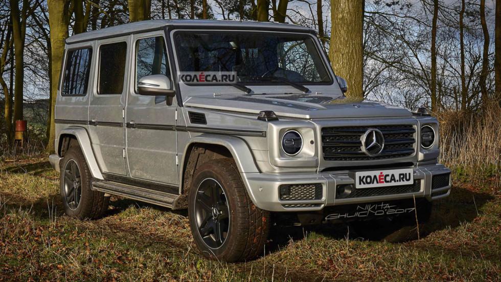 Mercedes G-rest front1