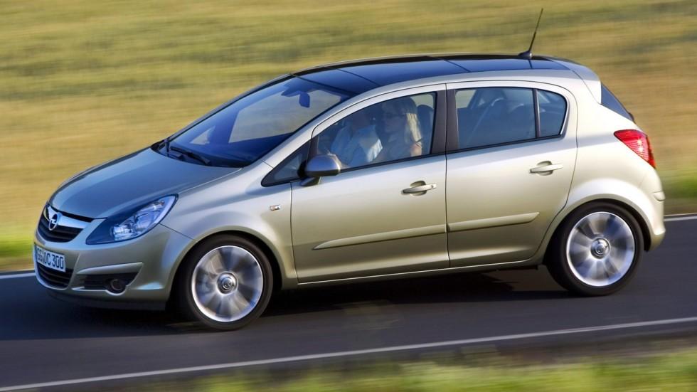На фото: Opel Corsa 5-door (D) '2006–09