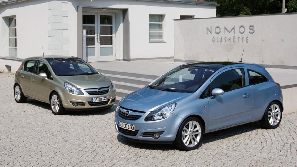 На фото: Opel Corsa (D) '2006–15