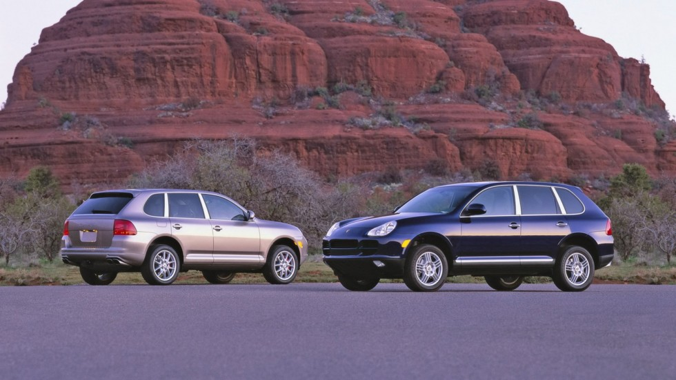 На фото: Porsche Cayenne '2002–07