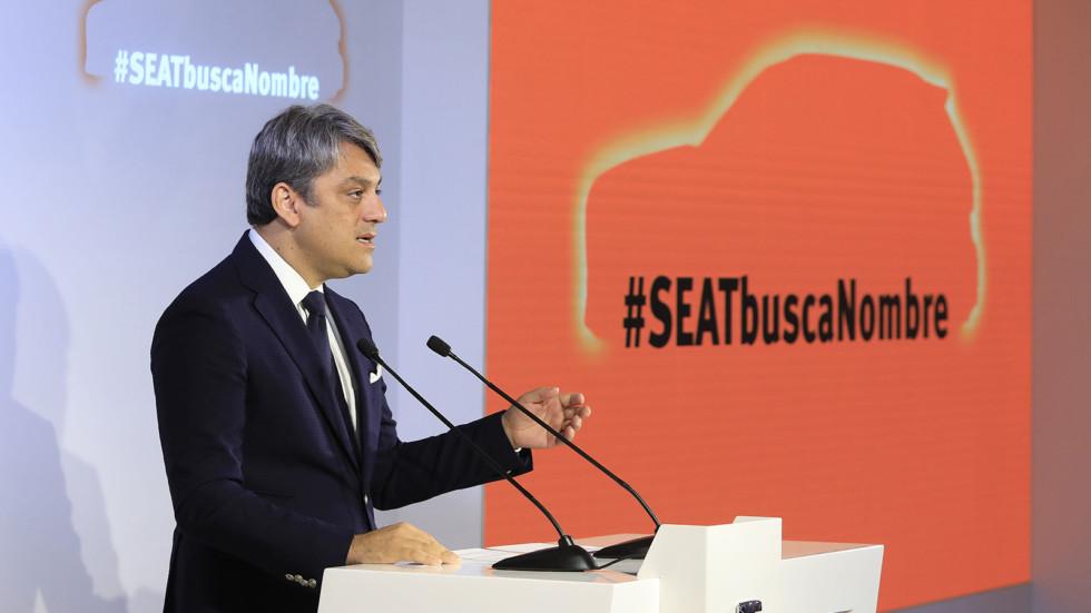 Лука де Мео на презентации проекта #SeatSeekingName
