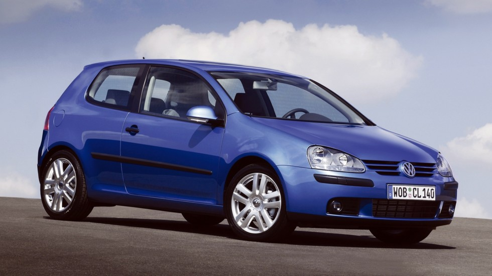 Volkswagen Golf 3-door (Typ 1K) '2003–08