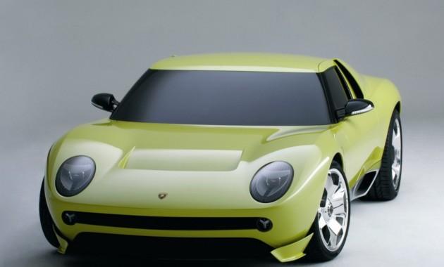 Lamborghini разрабатывает четырёхместный автомобиль ипреемник Miura